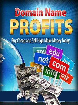 cover image of Domain name profits